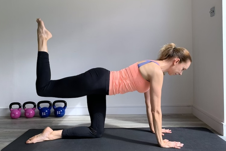 Mind Body Pilates Glutes