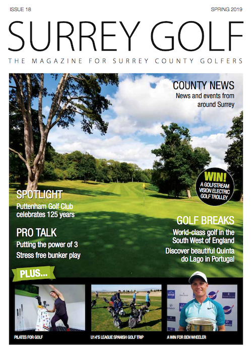 Surrey Golf Magazine Article